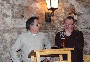 Matthias Oberth und Thomas Lunz