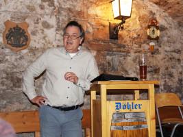 Moderator des poltischen Aschermittwochs, Matthias Oberth