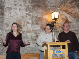 Alessa Lunz, Matthias Oberth und Thomas Lunz