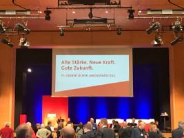 Landesparteitag der SPD in Bad Windsheim