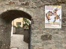 Eingang zum Karpfenmuseum