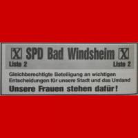 Anzeige SPD