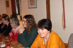 Gute Stimmung bei der Weihnachtsfeier des SPD-Ortsvereins Bad Windsheim