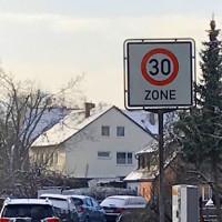 30 Zone Bodenfeldstraße