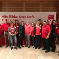 Landesparteitag 2019 der BayernSPD in Bad Windsheim - eherenamtliche Helferinnen und Helfer des SPD-Ortsverein Bad Windsheim und den SPD-Ortsvereinen Diespeck und Ammerndorf