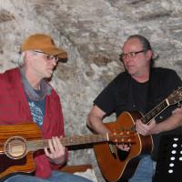 Arbeiterlieder vorgetragen von Dieter Vatter & Frank Beuschel, Burnt Eve band