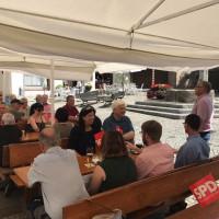 Weißwurstfrühstück der SPD beim Döbler