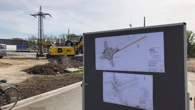 Illesheimer Straße wieder frei befahrbar