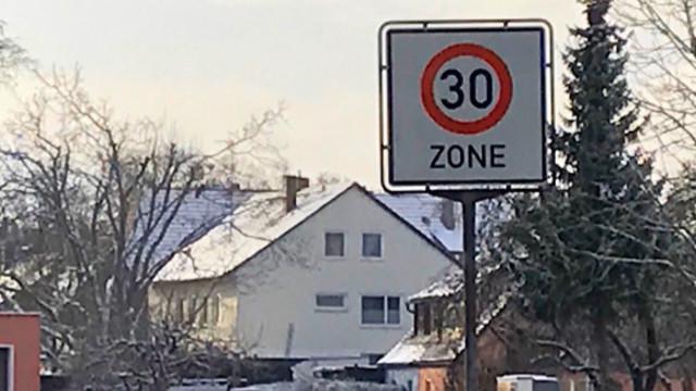 Tempo-30-Zone im Westen