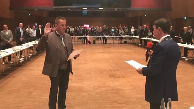 Ronald Reichenberg zum stellvertretenden Bürgermeister gewählt