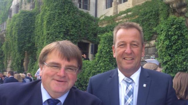Ronald Reichenberg und Harry Scheuenstuhl